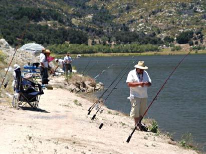 Lake henshaw california for Lake henshaw fishing